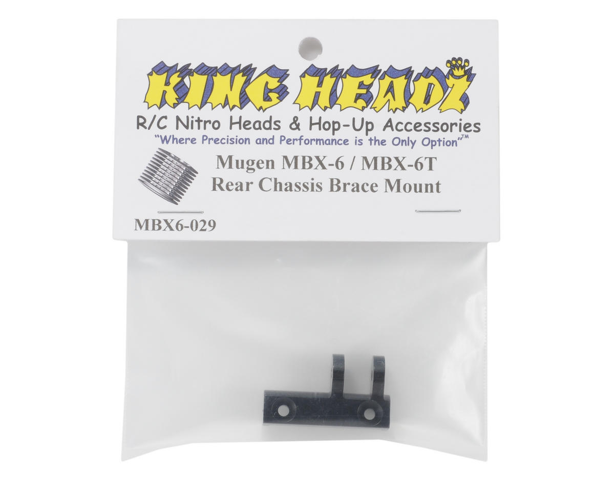King Headz Mugen MBX6 Rear Chassis Brace Mount