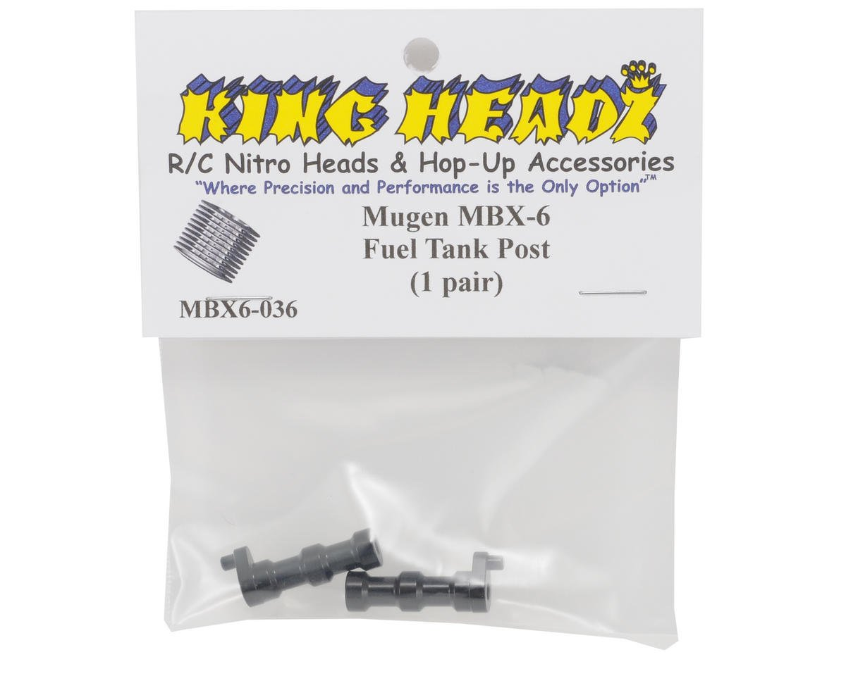 King Headz Mugen MBX6 Fuel Tank Posts (2)