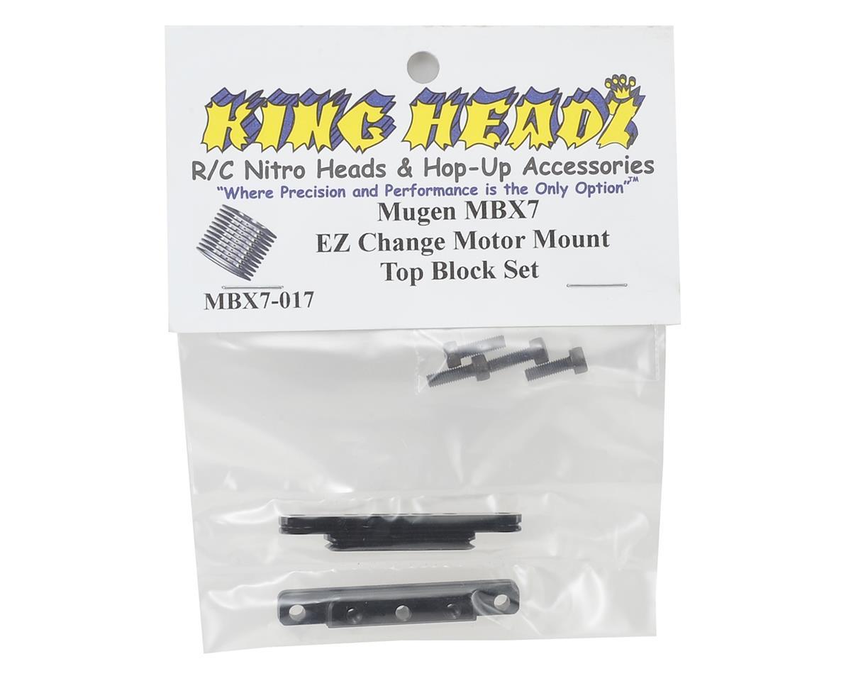 King Headz MBX7 EZ Change Motor Mount Top Blocks