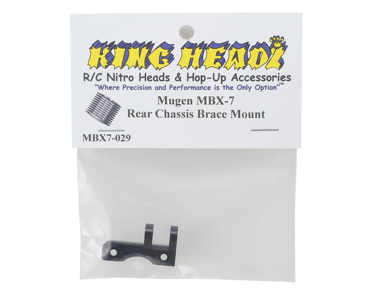 Mugen MBX7 Rear Chassis Brace Mount by King Headz