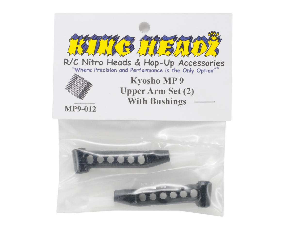 Kyosho MP9 Front Upper Arms (2) by King Headz