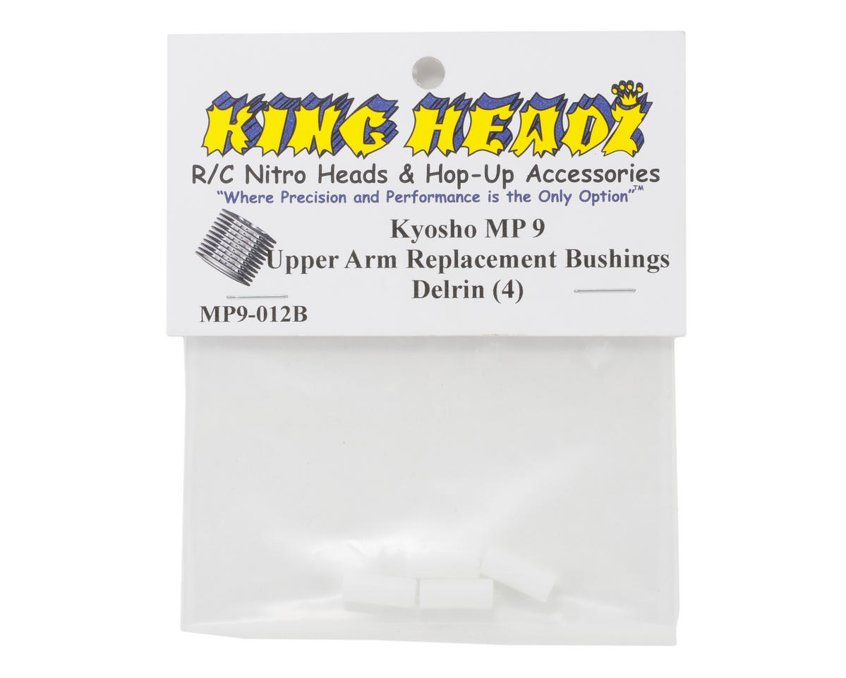 King Headz Kyosho MP9 Front Upper Arm Bushing Set (4)