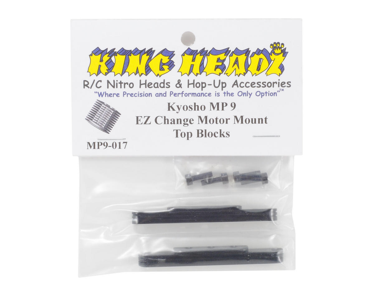 King Headz Kyosho MP9 EZ Change Motor Mount Top Blocks
