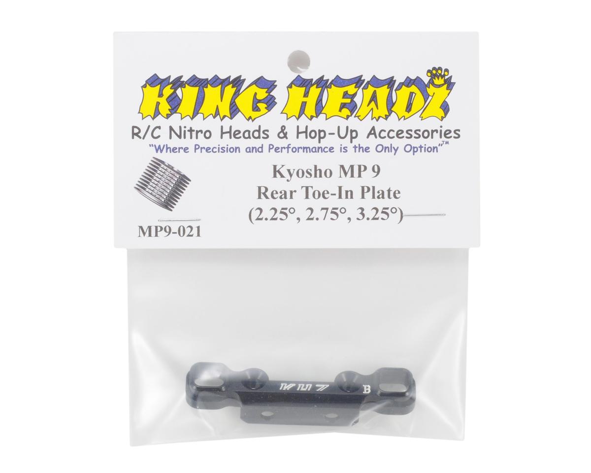 Kyosho MP9 Rear Toe-In Plate (2.25°, 2.75°, 3.25°) by King Headz