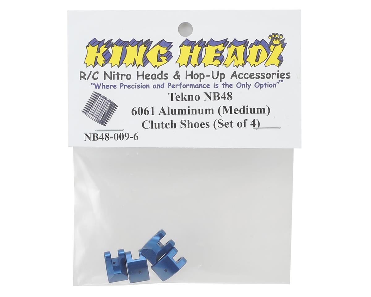 NB48 6061 Aluminum Clutch Shoes (4) by King Headz