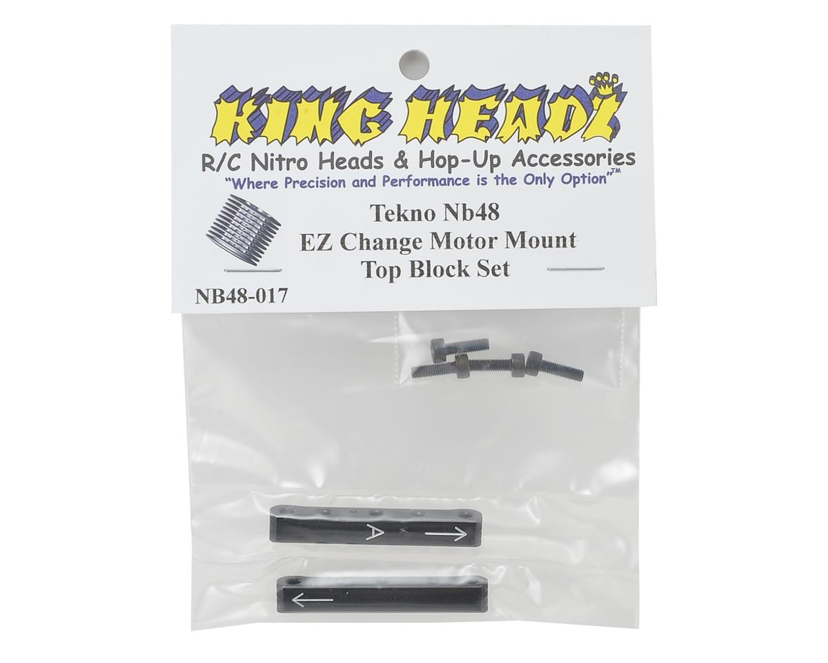 King Headz NB48 EZ Change Motor Mount Top Blocks