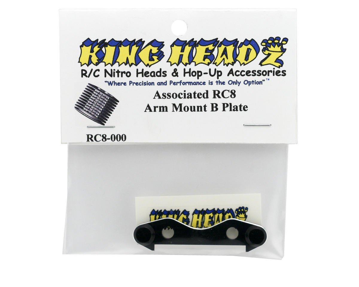 "King Headz Associated RC8 Arm Mount ""B"" Plate"