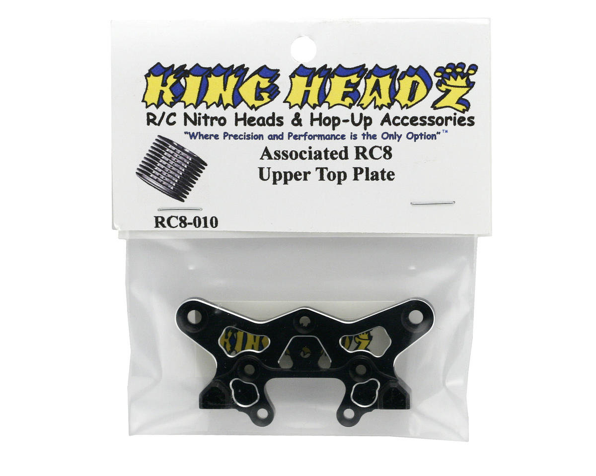 King Headz Associated RC8 Upper Top Plate