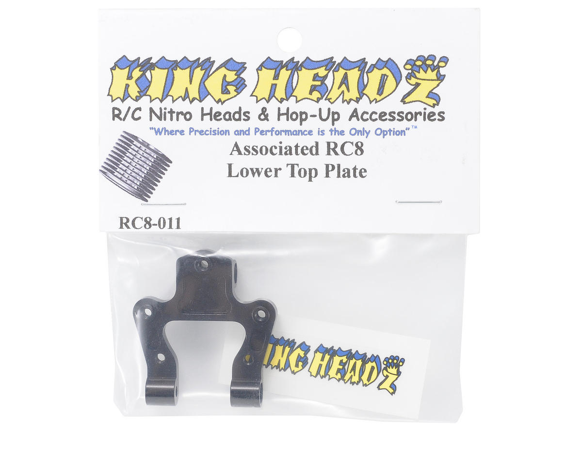 King Headz Associated RC8 Lower Top Plate