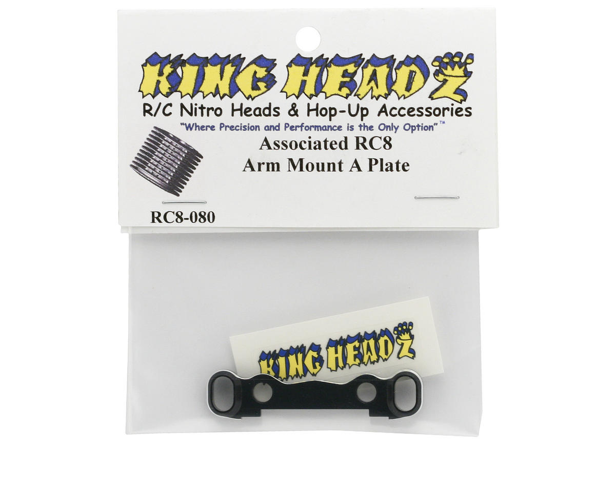 King Headz Associated RC8 Arm Mount A Plate