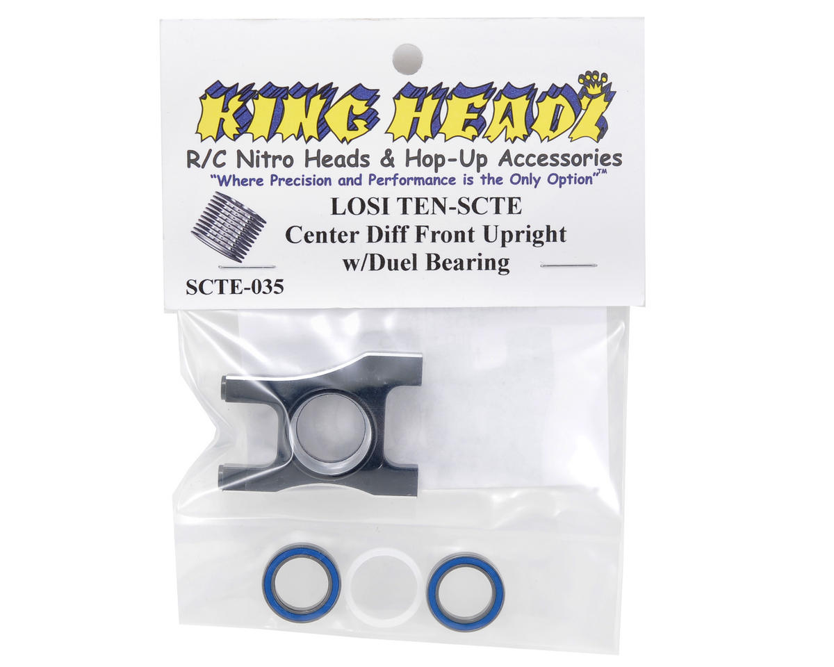 Center Differential Front Upright w/Dual Bearing by King Headz