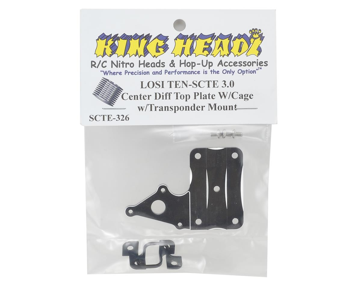 King Headz TEN-SCTE 3.0 Differential Top Plate w/Transponder Mount