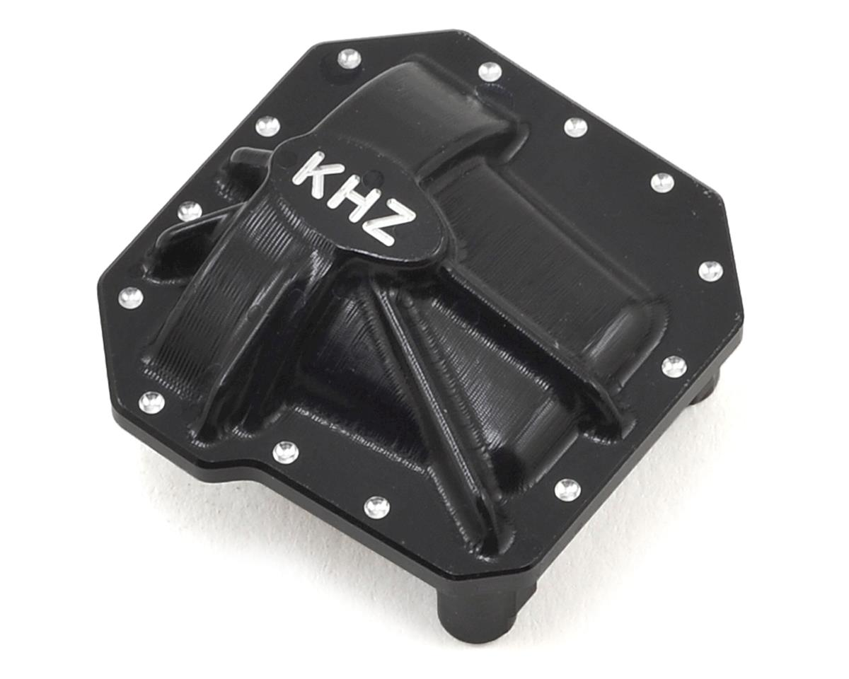 King Headz SCX10 II AR44 Aluminum Differential Cover (Black)