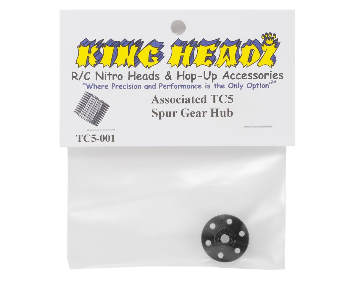 Associated TC5 Spur Gear Hub by King Headz