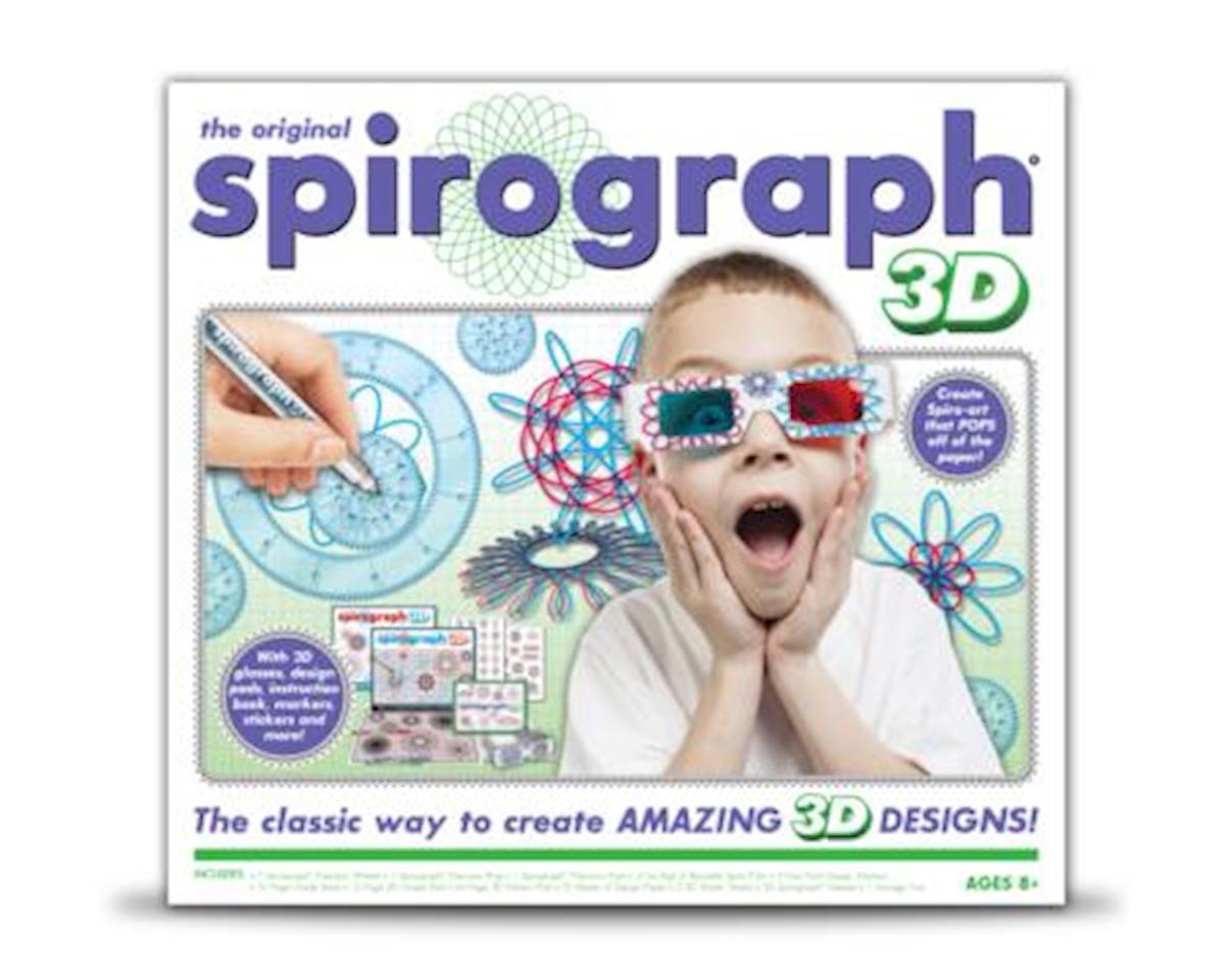 Kahootz 1014 Spirograph 3D Kit