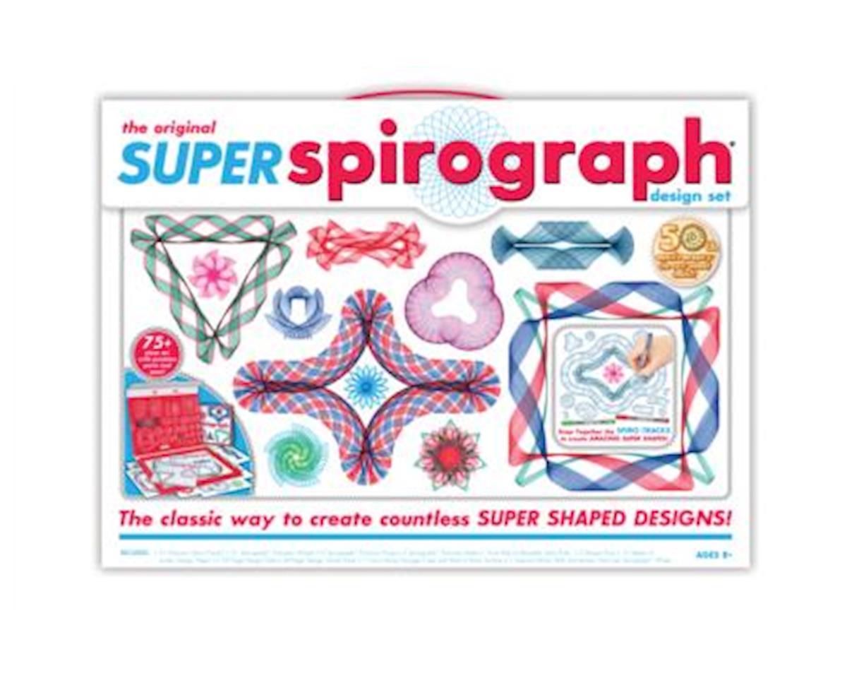 Kahootz 1016 Kahootz Super Spirograph Kit