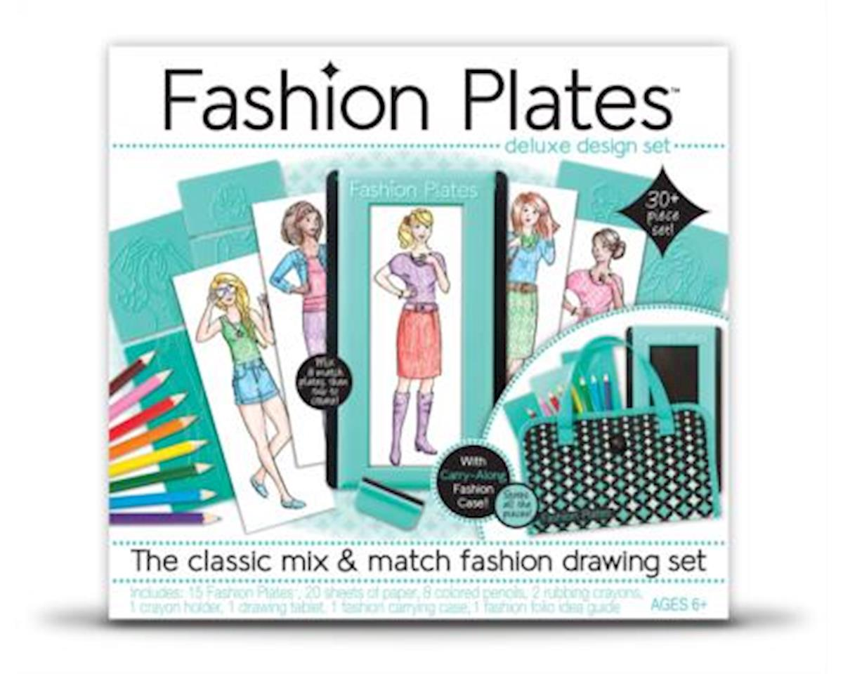 Kahootz 1300 Spirograph  Fashion Plates Drawing Set
