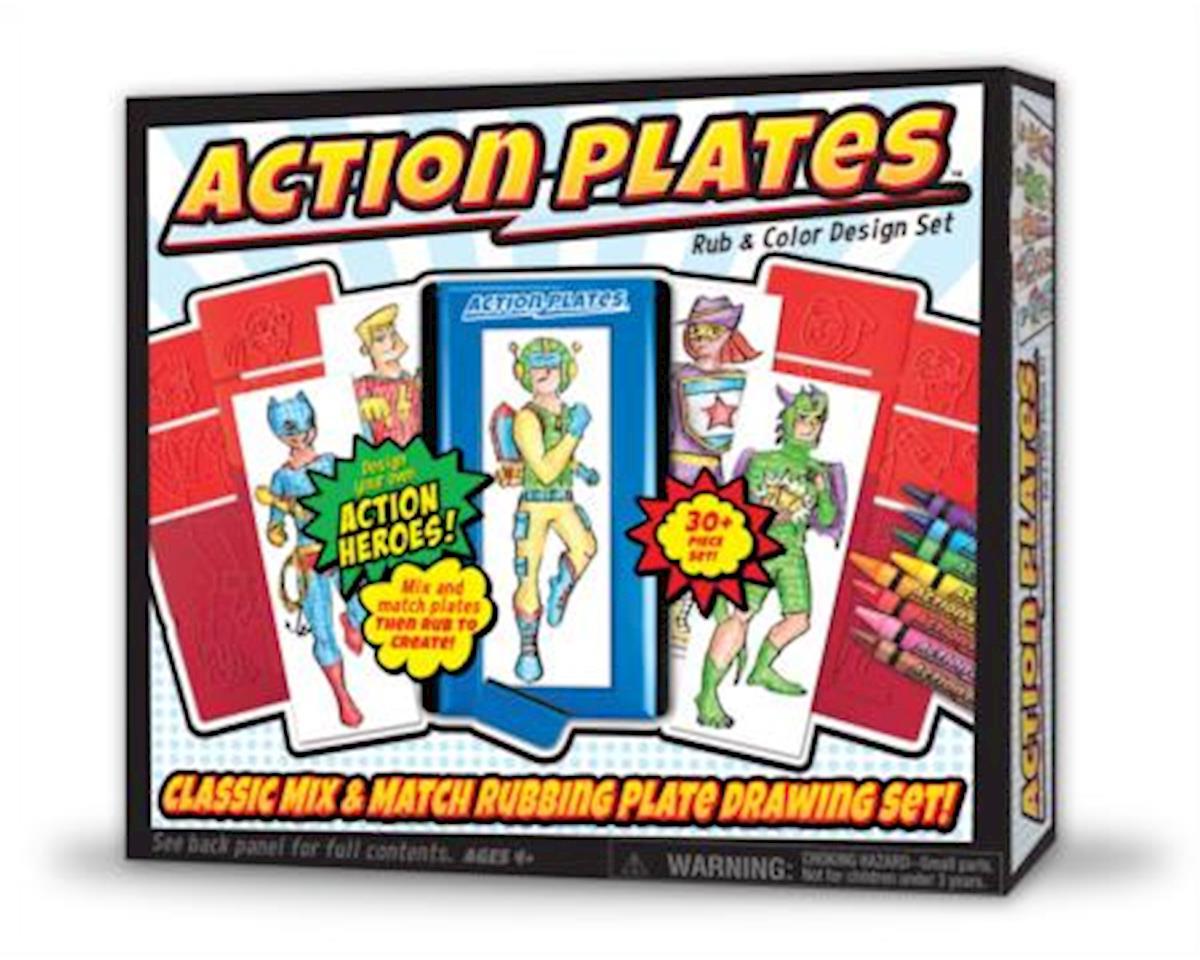 Kahootz Action Plates Drawing Playset
