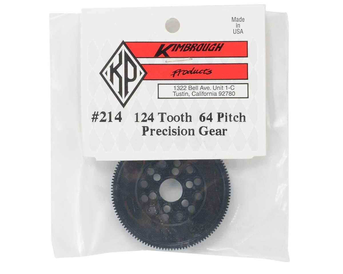 Kimbrough 64P Precision Spur Gear (124T)