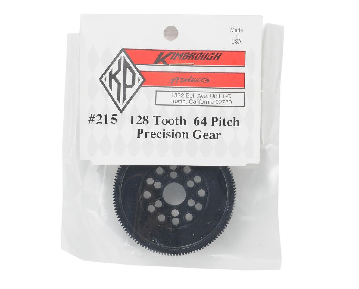 Kimbrough 64P Precision Spur Gear (128T)