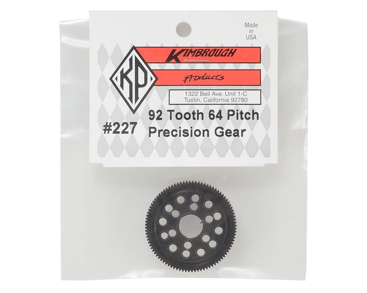 64P Precision Spur Gear (92T) by Kimbrough