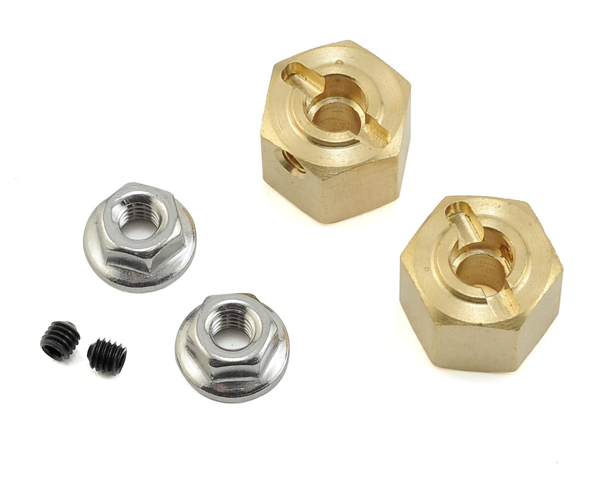 Team KNK 12mm Brass Hex (2) (10mm)
