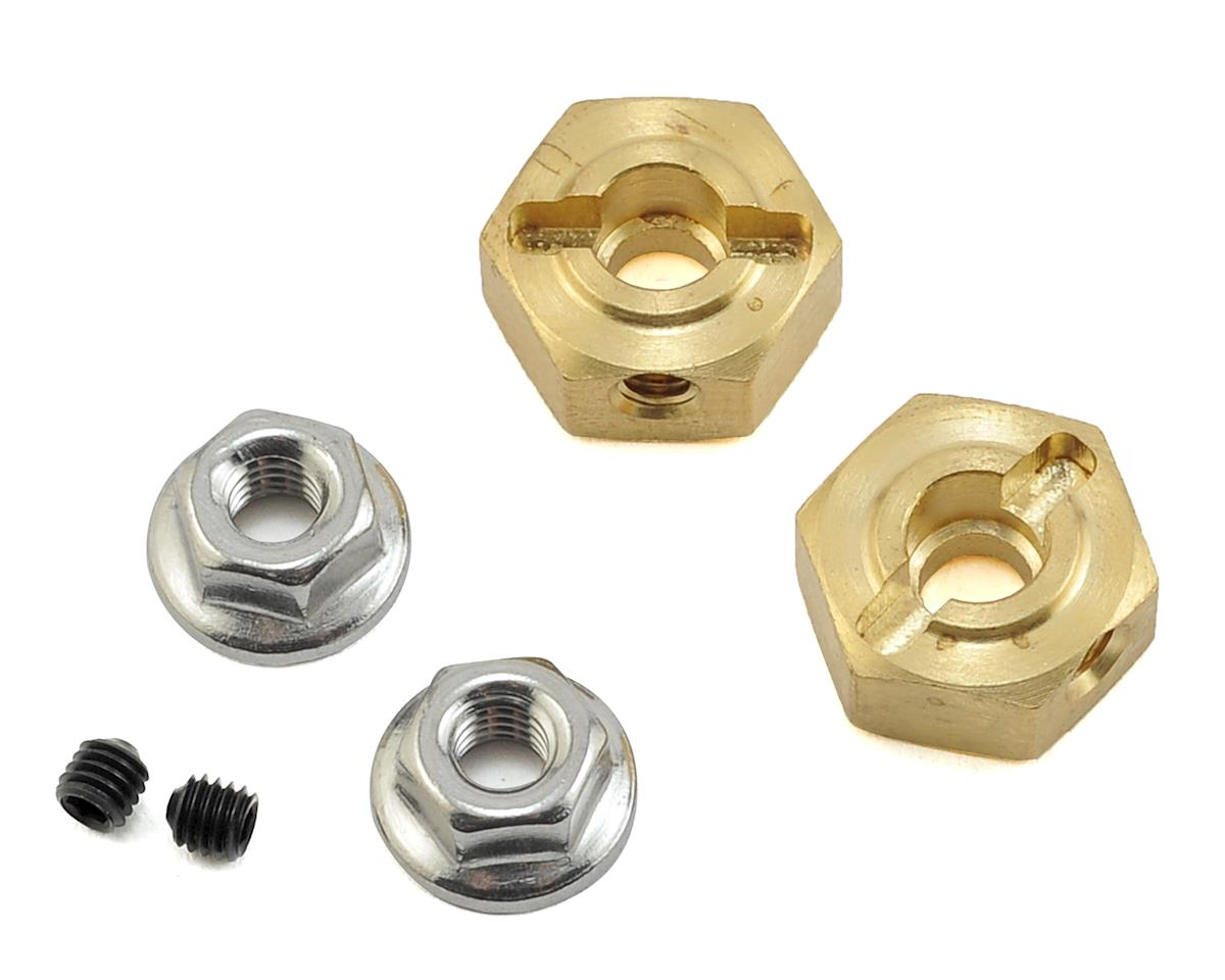 Team KNK 12mm Brass Hex (2) (6mm)