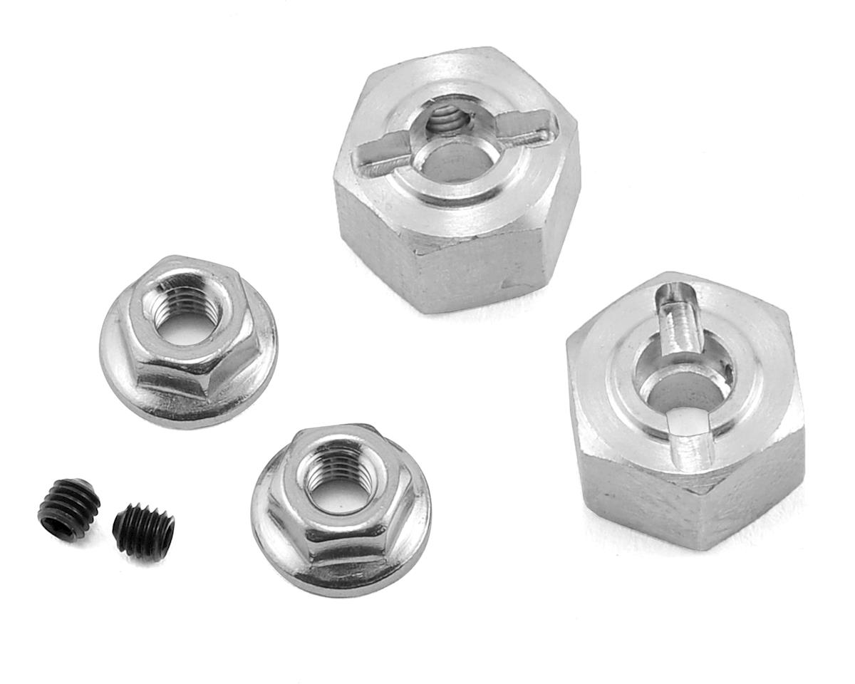 12mm Aluminum Hex (2) (8mm) by Team KNK