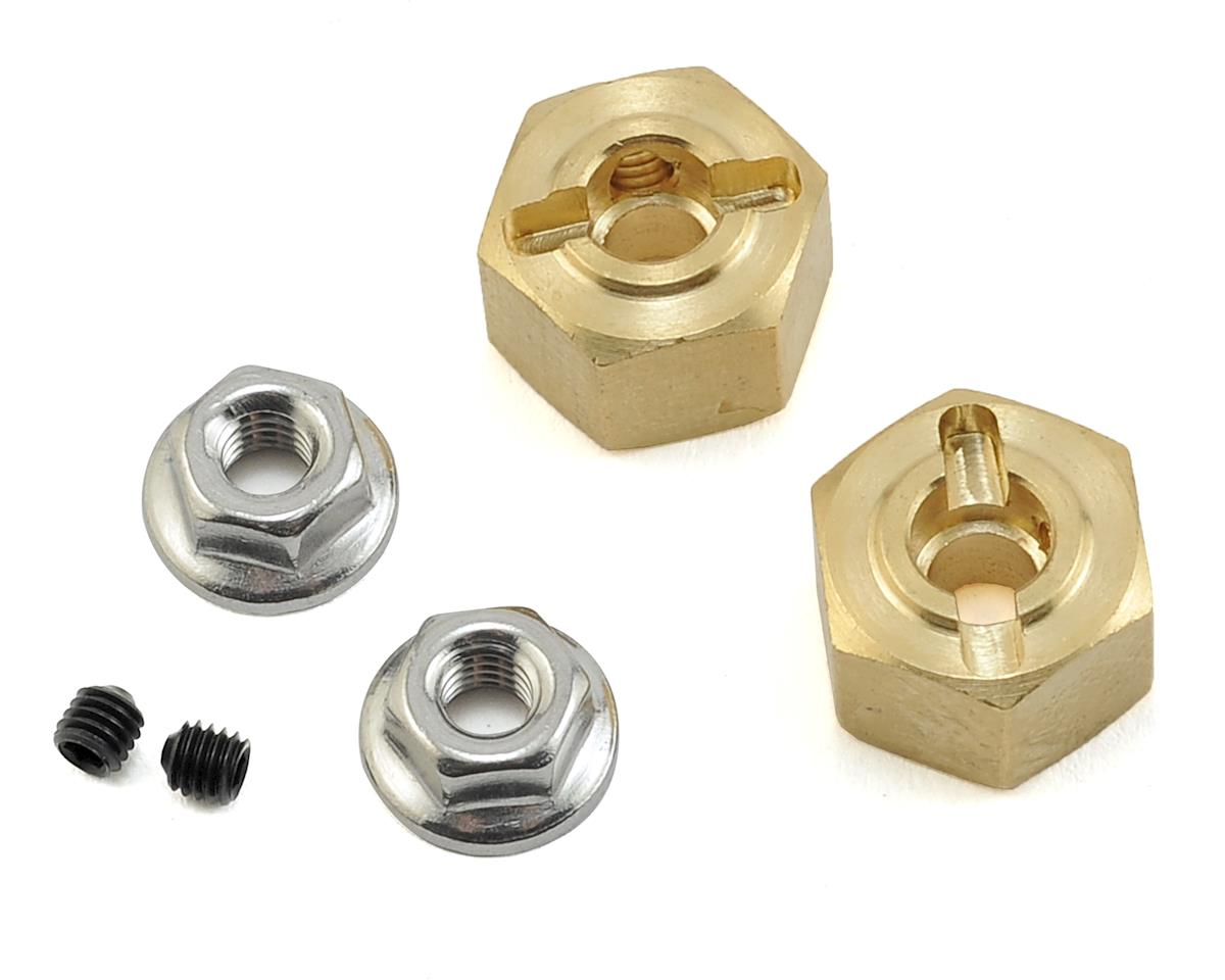Team KNK 12mm Brass Hex (2) (8mm)