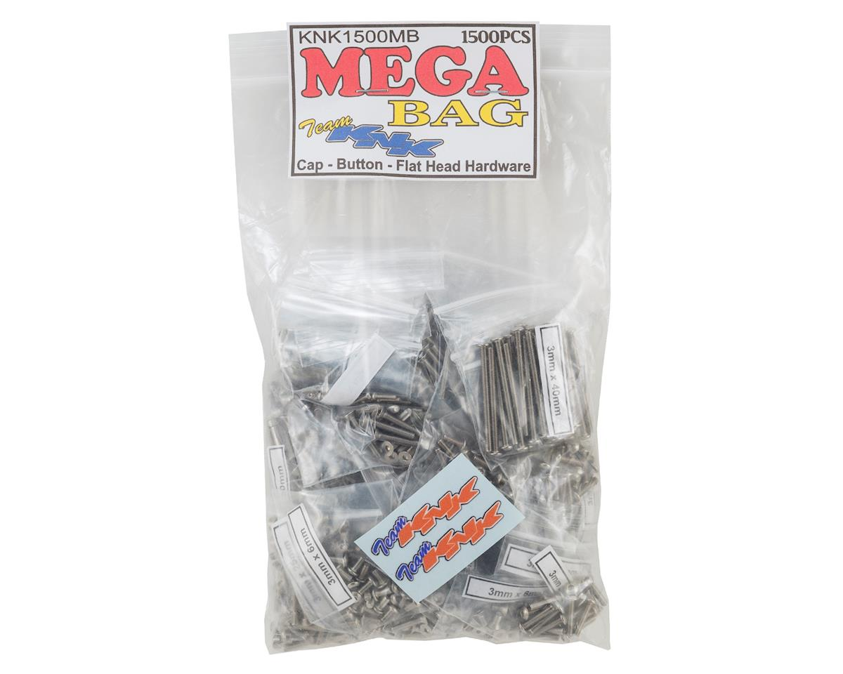 Team KNK Mega Bag Stainless Hardware Kit (1500) (RC4WD Gelande II)