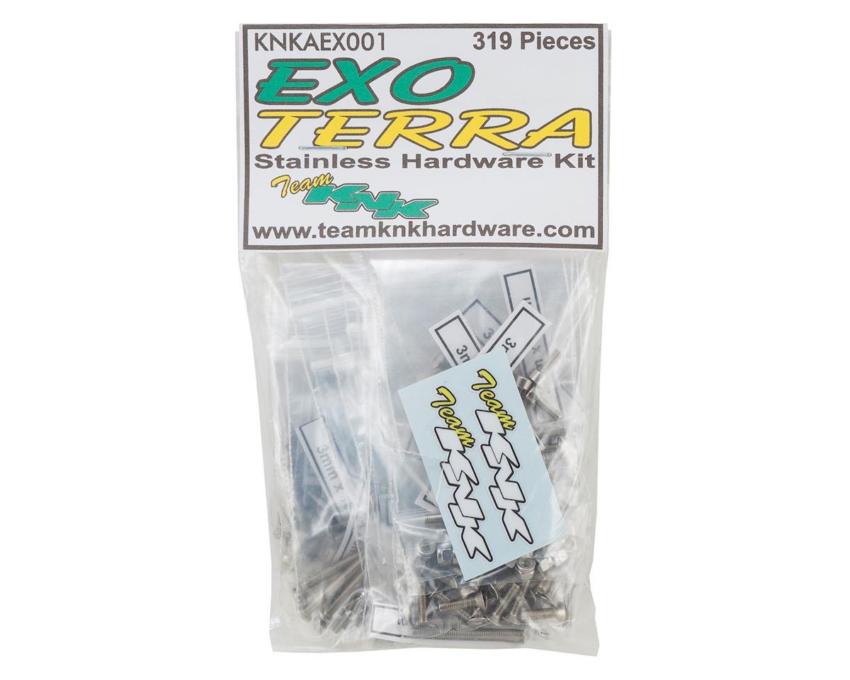 Team KNK Axial Exo Terra Stainless Hardware Kit (319)