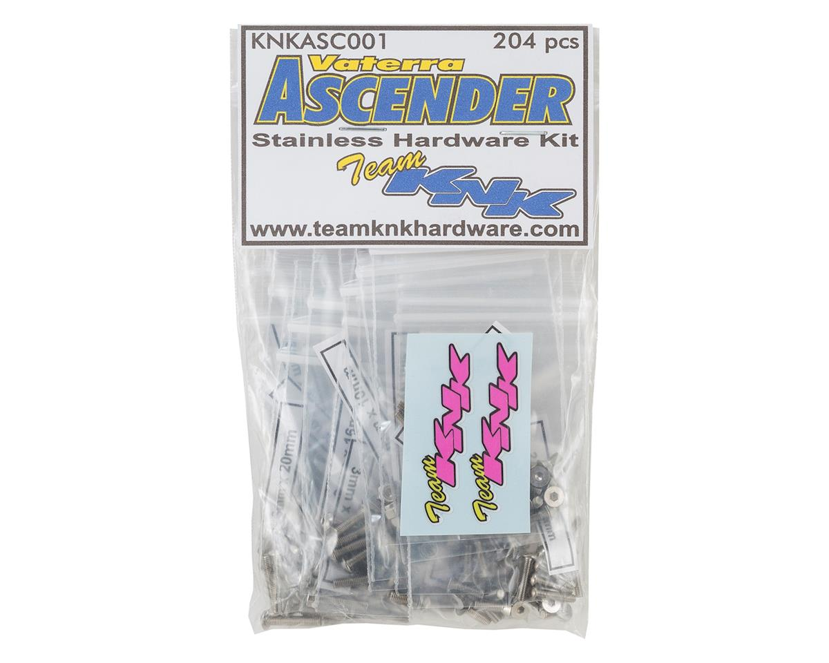 Team KNK Vaterra Ascender Stainless Hardware Kit (204)
