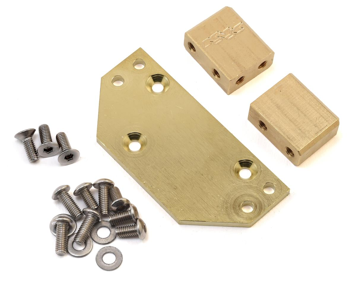 Team KNK Brass Servo Mount Kit