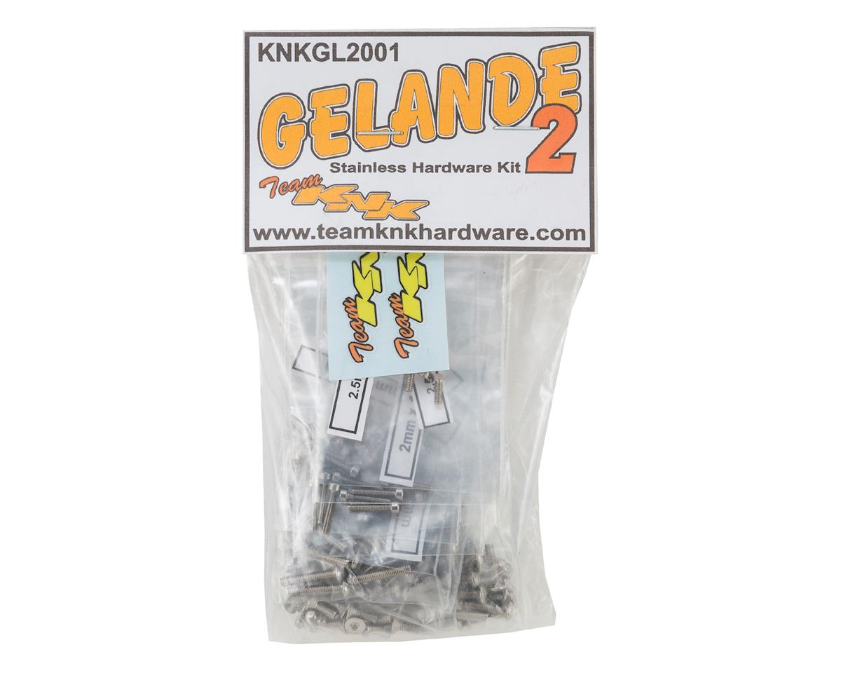 Team KNK RC4WD Gelande 2 Stainless Hardware Kit (211)
