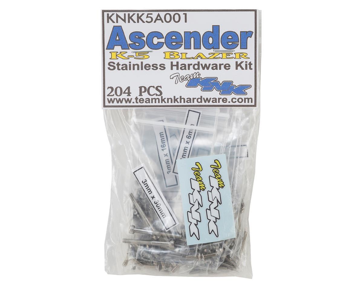 Team KNK Vaterra K-5 Ascender Stainless Hardware Kit (204)