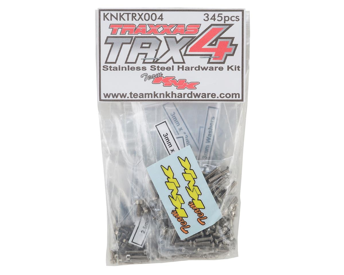 Traxxas TRX4 Stainless Hardware Kit (345) by Team KNK