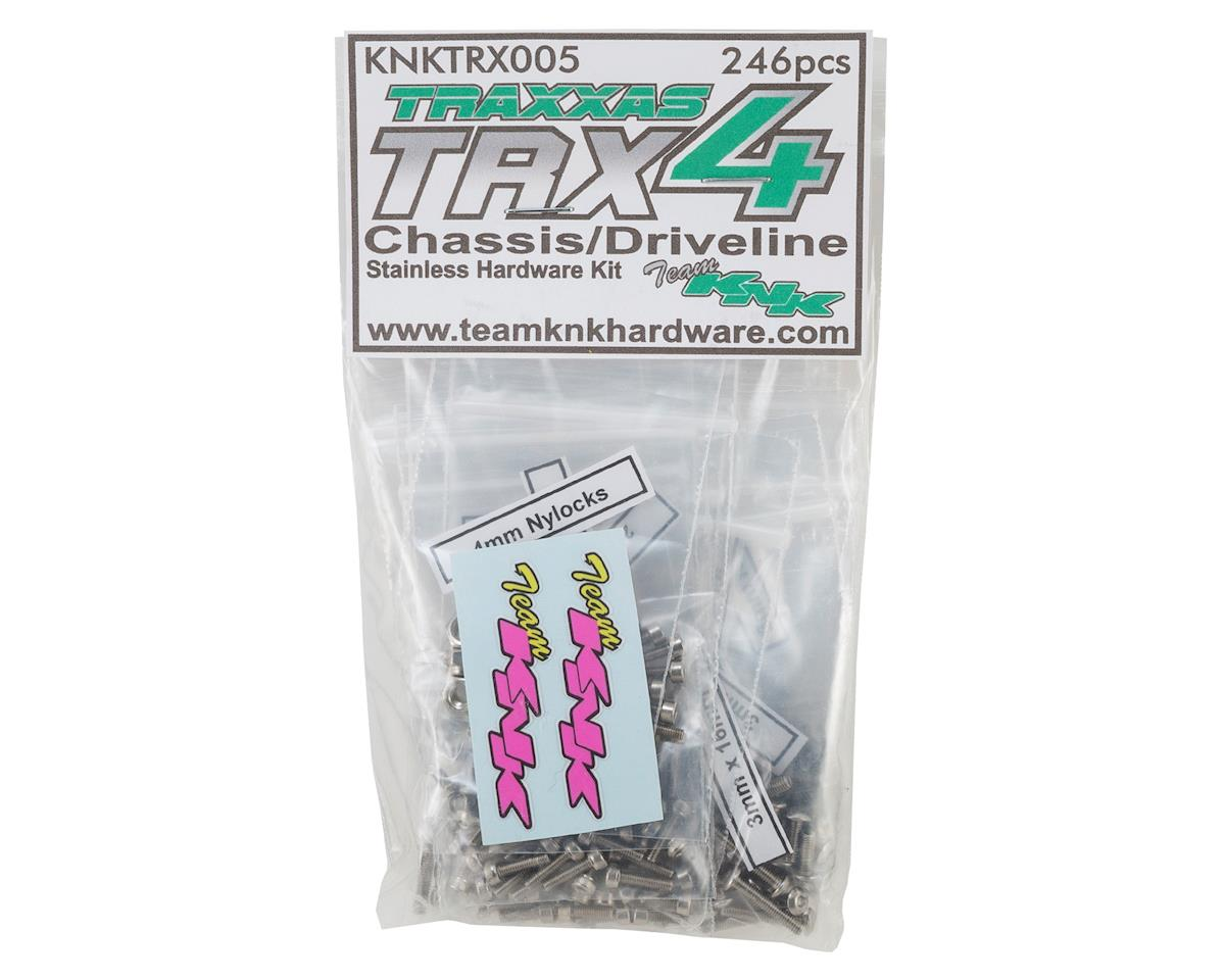 Team KNK Traxxas TRX4 Stainless Chassis & Driveline Screw Kit (246)