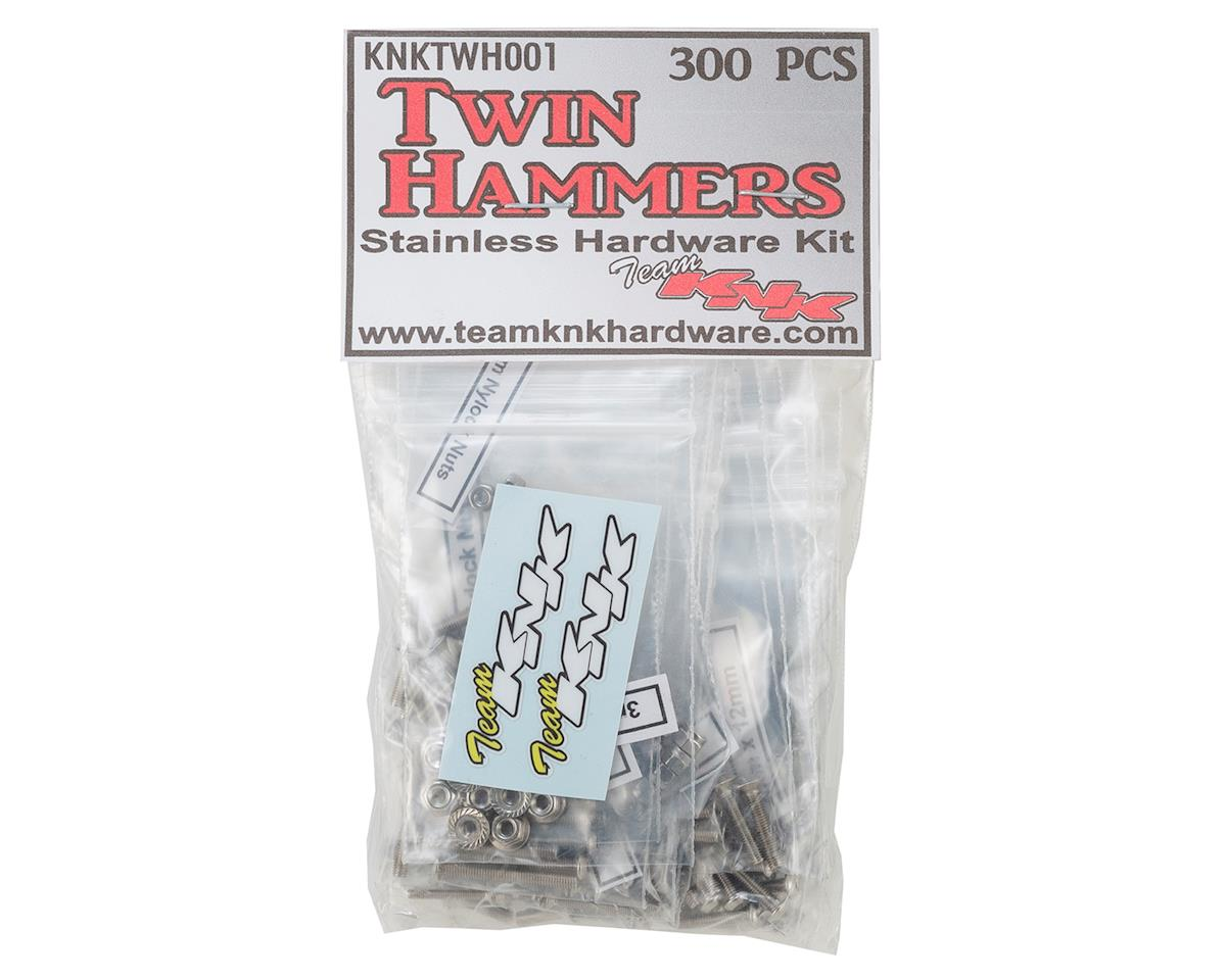 Team KNK Vaterra Twin Hammers Stainless Hardware Kit (300)