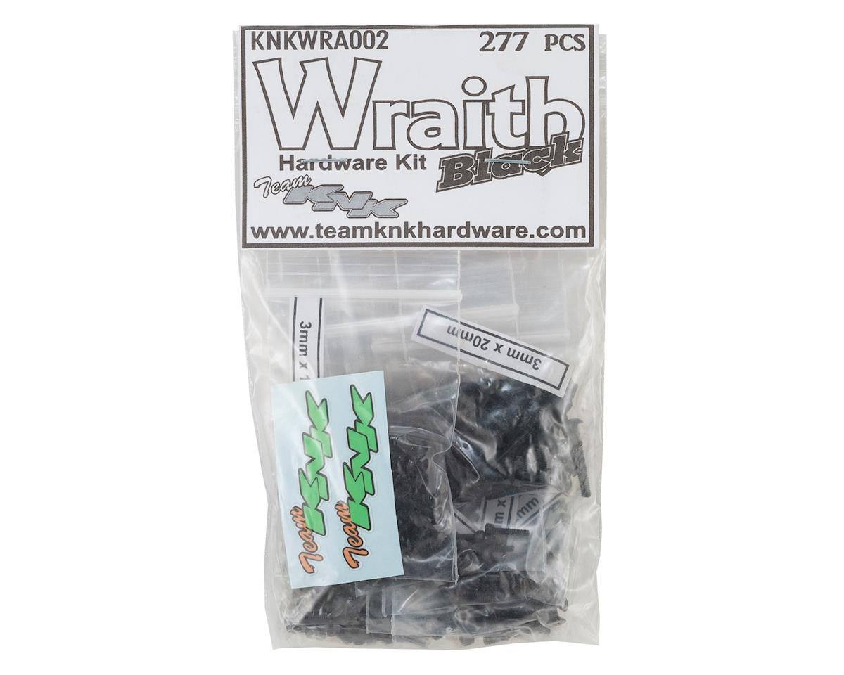 Axial Wraith Black Oxide Hardware Kit (277)