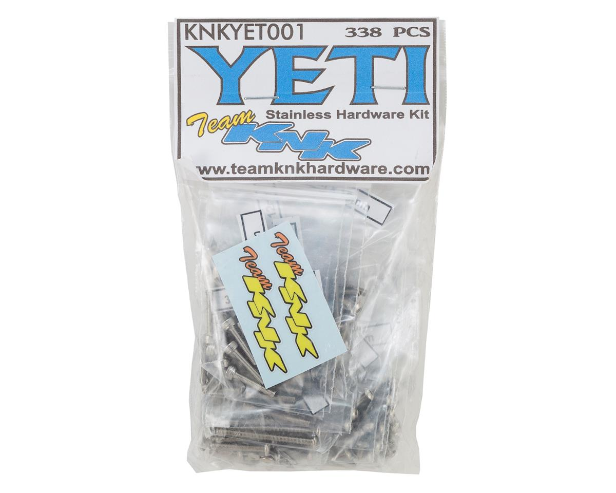 Team KNK Axial Yeti Stainless Hardware Kit (338)