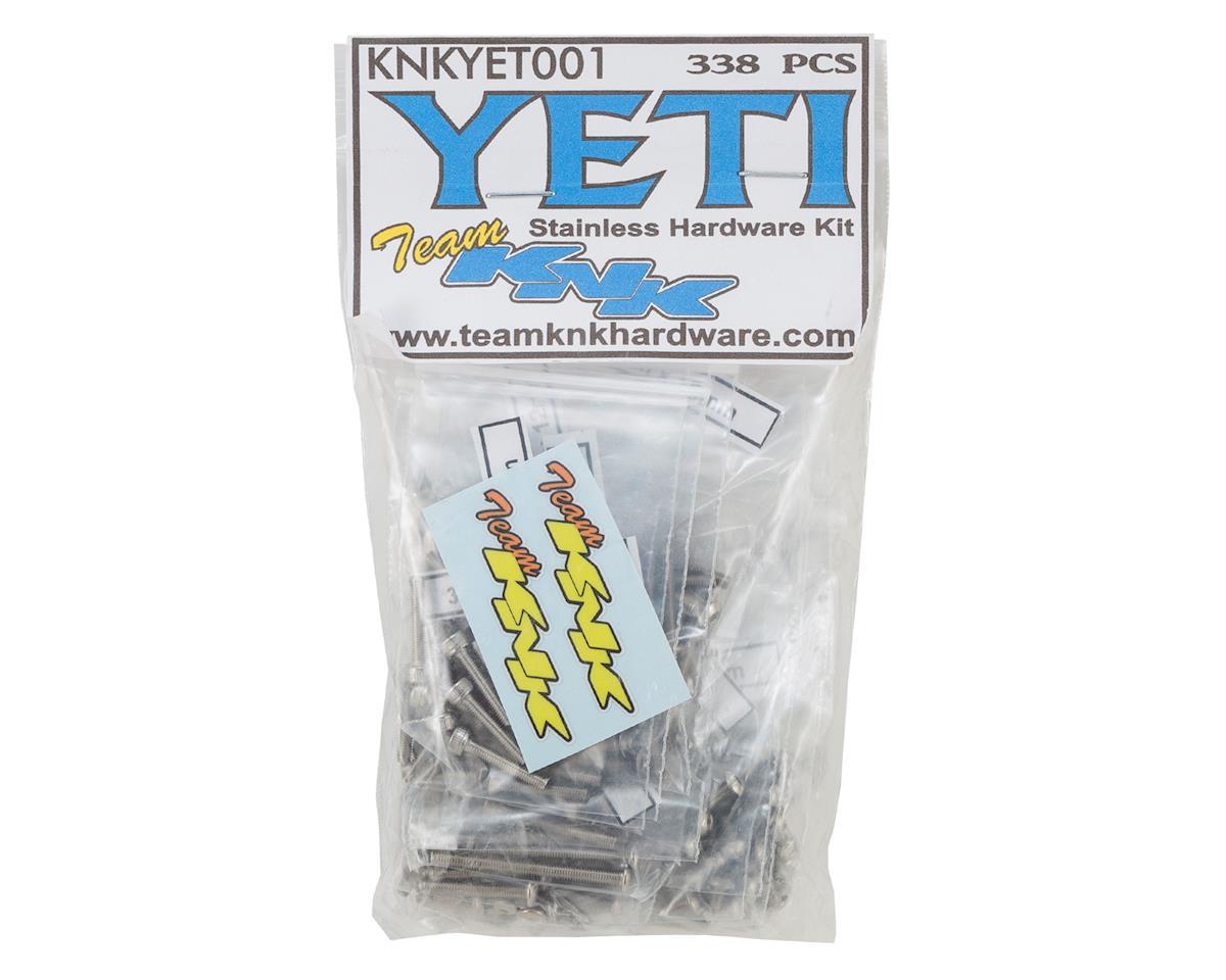Team KNK Axial Yeti Stainless Hardware Kit (338)