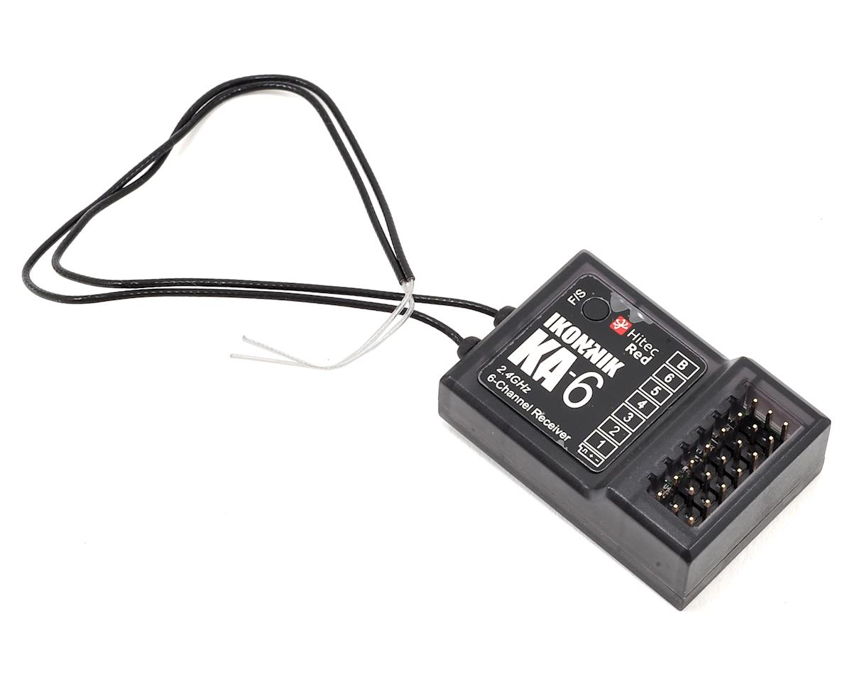 Ikonnik KA-6 6-Channel Transmitter & Receiver (Hitec Red) (Mode 2)