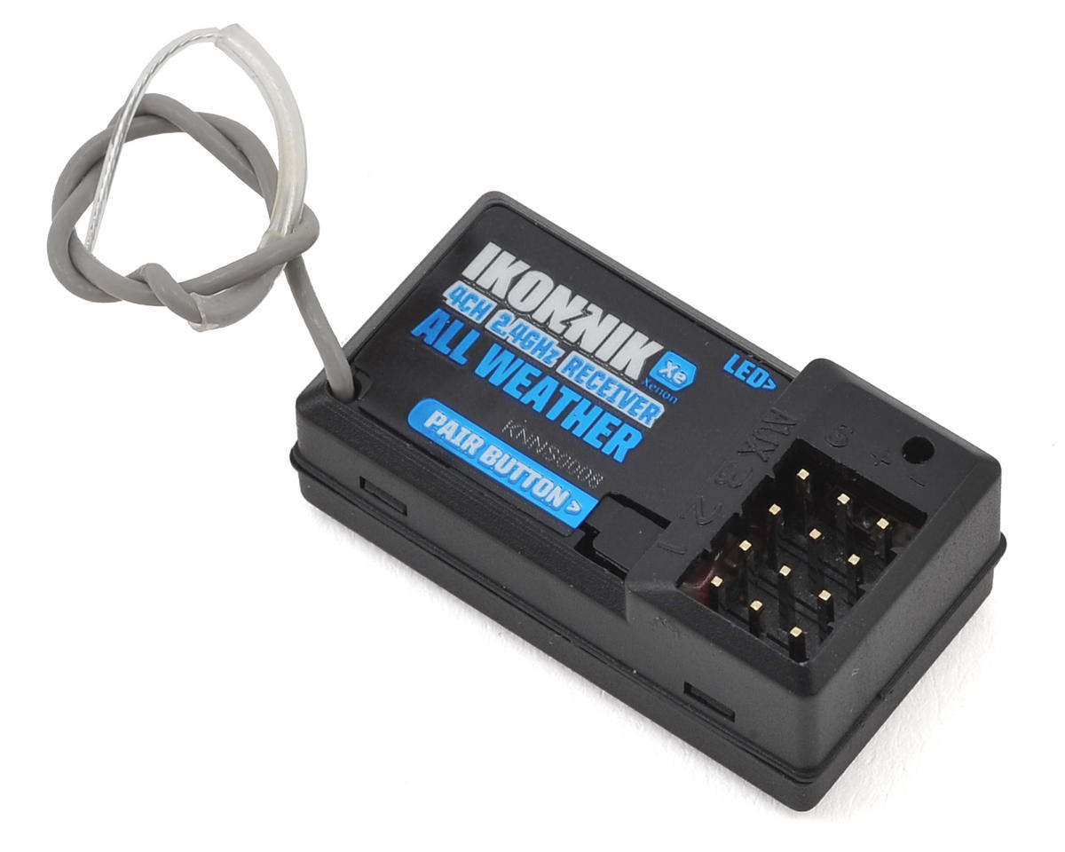 Ikonnik Xenon 4-Channel 2.4GHz All-Weather Receiver