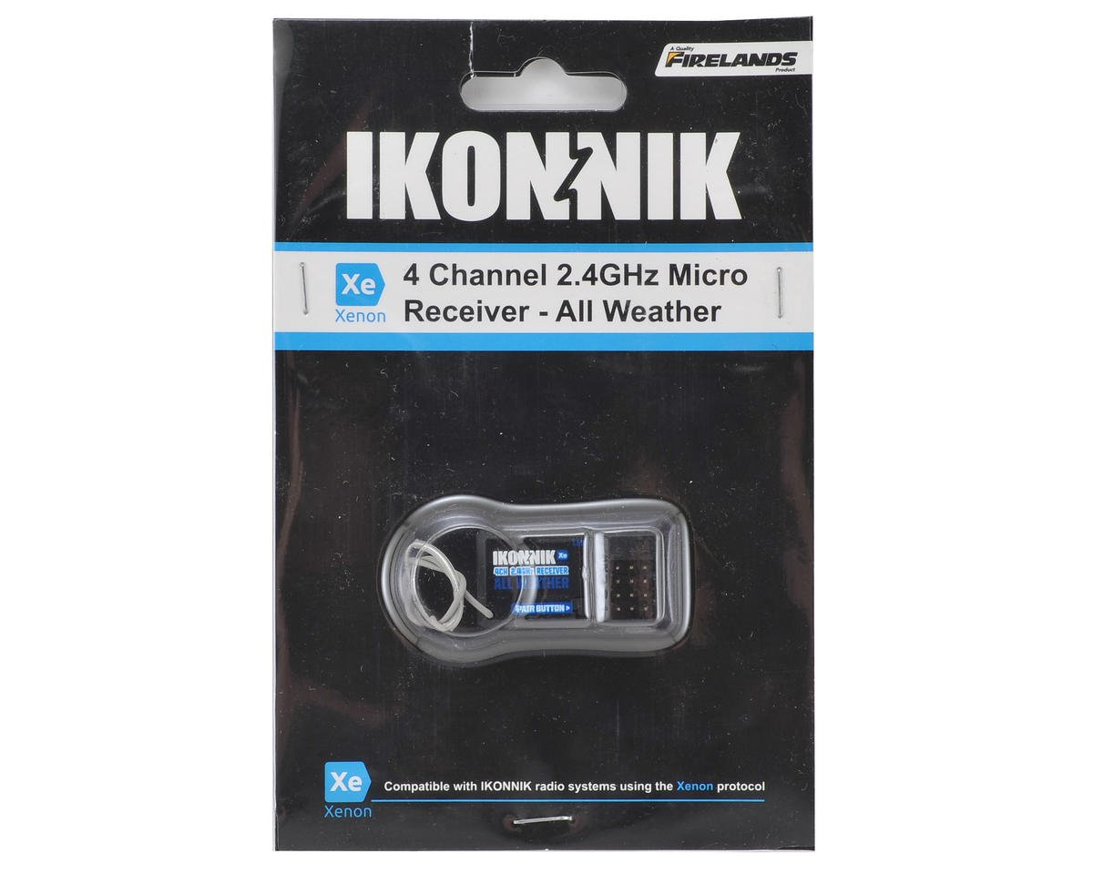 Xenon 4-Channel 2.4GHz All-Weather Receiver by Ikonnik