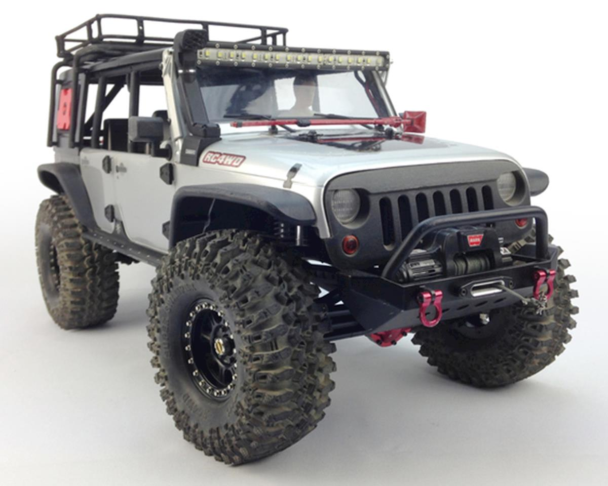 Knight Customs SCX10 ANGRY Eye Grill & Mount