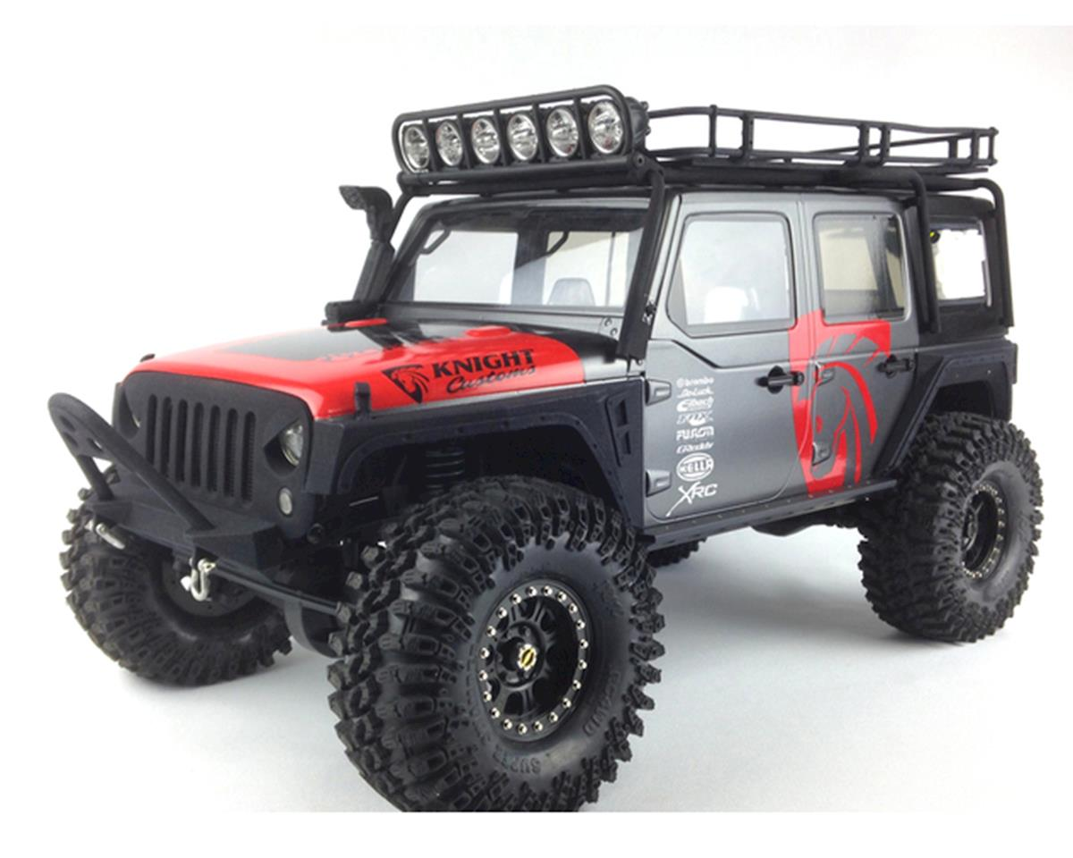 Knight Customs SCX10 EVIL Eye Grill & Mount