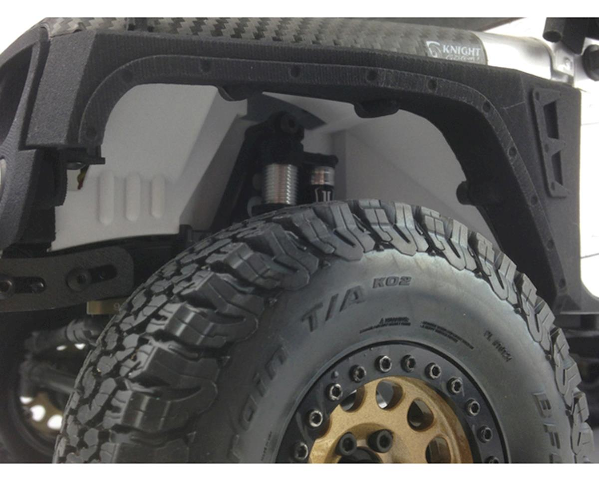 Knight Customs SCX10 II Front Inner Fenders (Deadbolt, G6 & Wrangler)