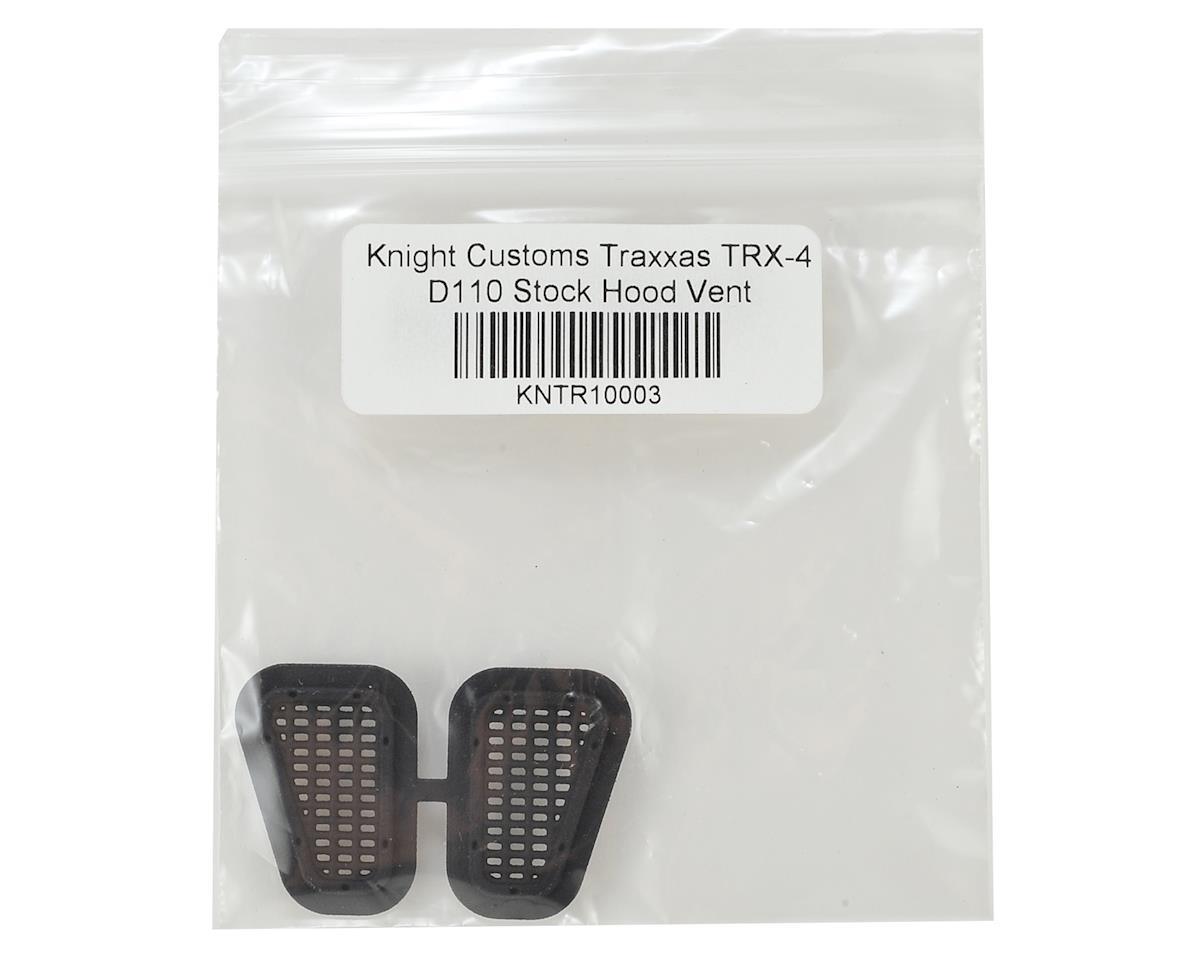 Knight Customs Traxxas TRX-4 D110 Stock Hood Vent