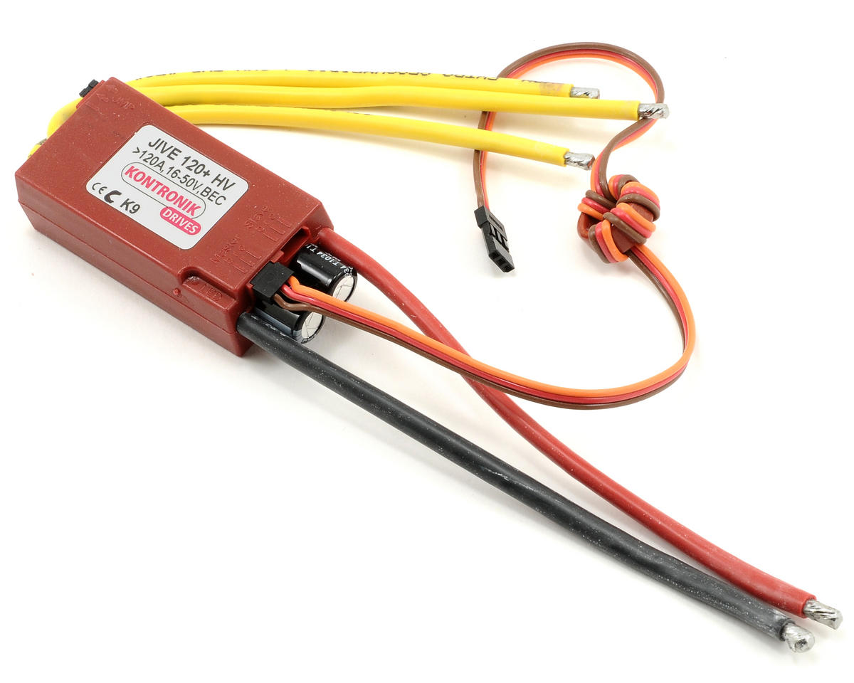 Kontronik Jive 120+ HV Brushless ESC (V9)