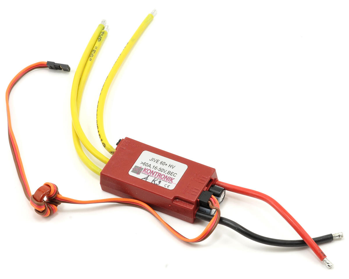 Kontronik Jive 60+ HV Brushless ESC (V9)
